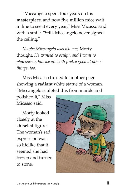 Book Preview For Mortyangelo and the Mystery Art Page 11