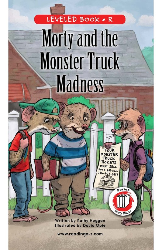 Book Preview For Morty and the Monster Truck Madness Page 0