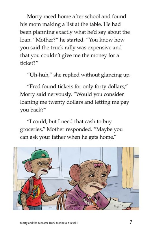 Book Preview For Morty and the Monster Truck Madness Page 7