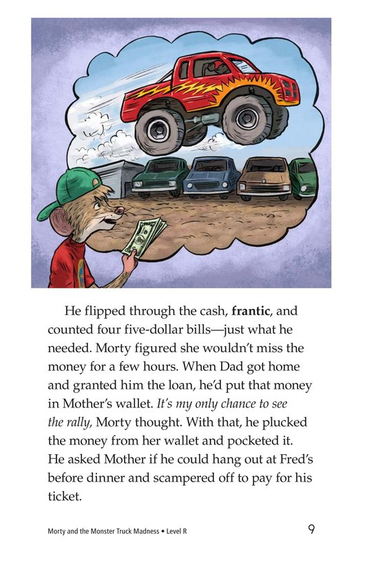 Book Preview For Morty and the Monster Truck Madness Page 9