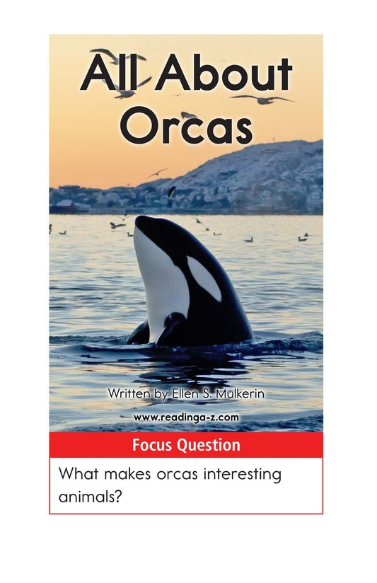 Book Preview For All About Orcas Page 1