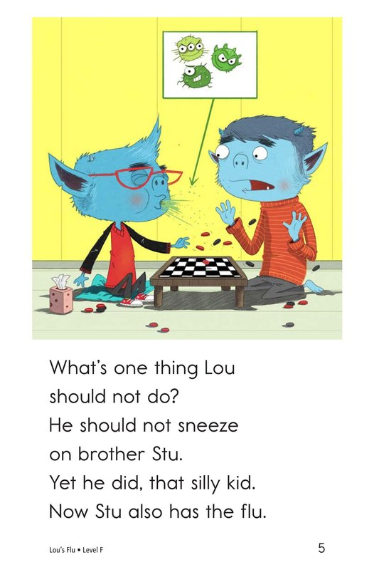 Book Preview For Lou's Flu Page 5