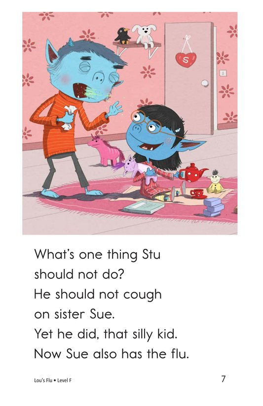 Book Preview For Lou's Flu Page 7