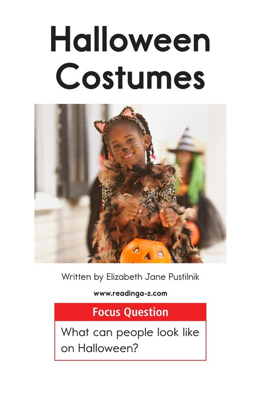 Book Preview For Halloween Costumes Page 1