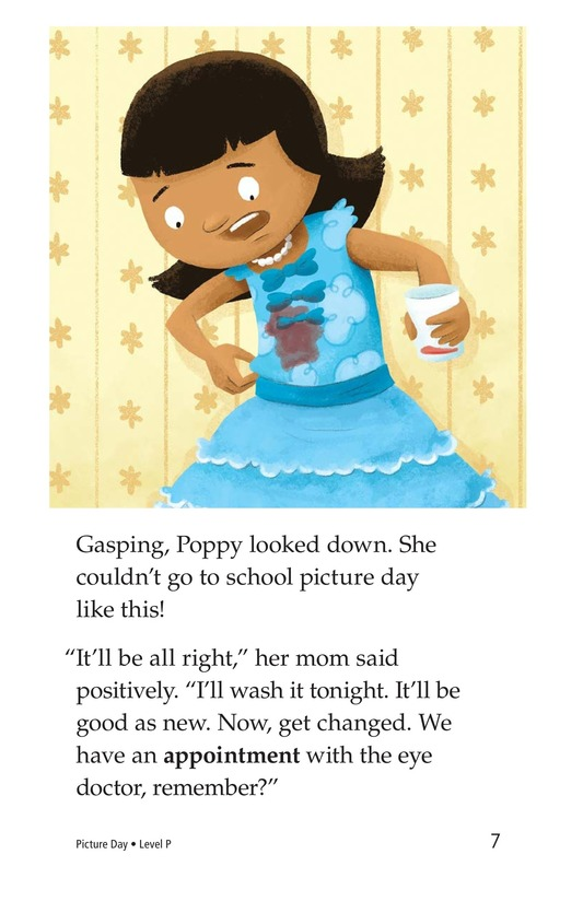 Book Preview For Picture Day Page 7