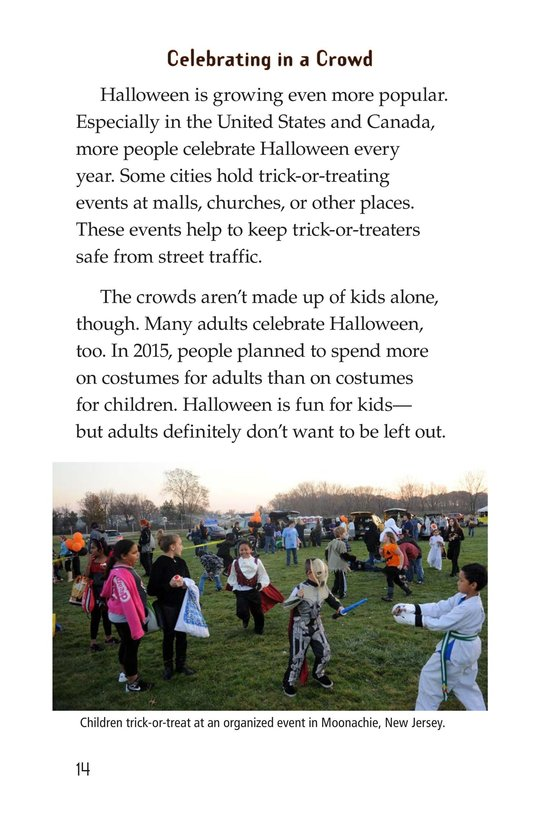 Book Preview For The History of Halloween Page 14