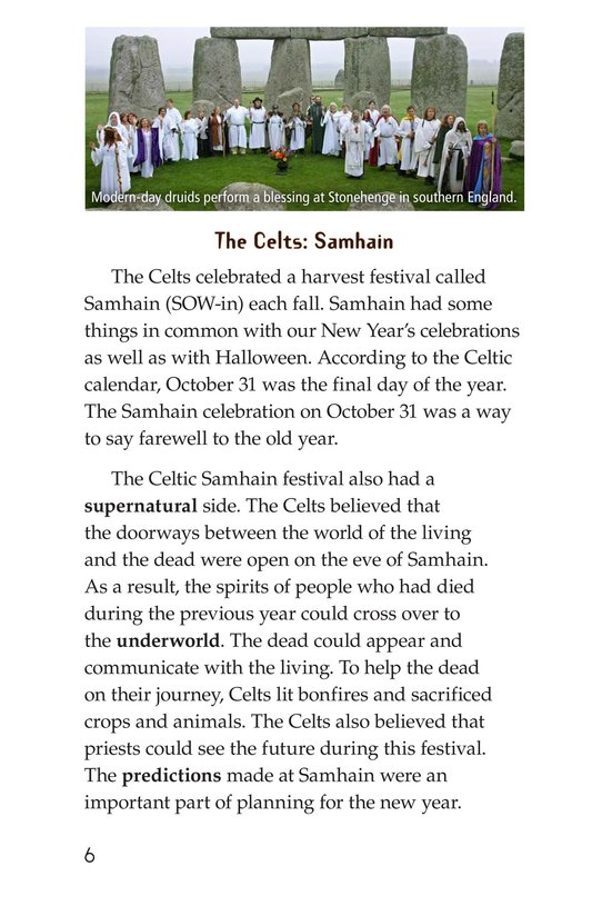 Book Preview For The History of Halloween Page 6
