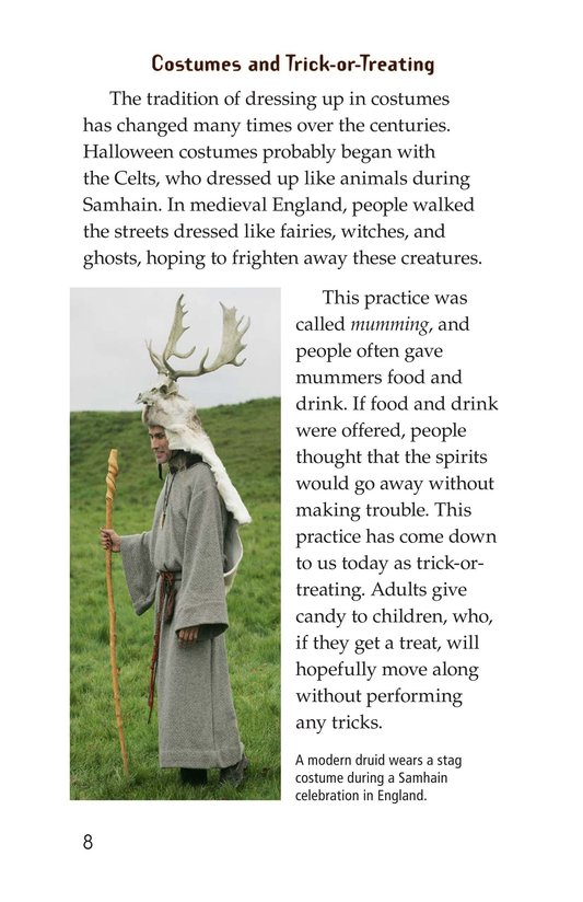 Book Preview For The History of Halloween Page 8
