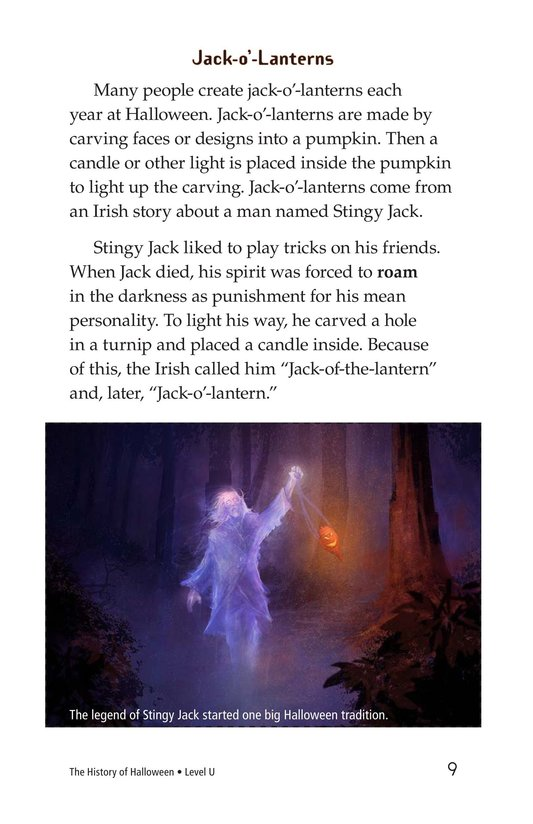 Book Preview For The History of Halloween Page 9