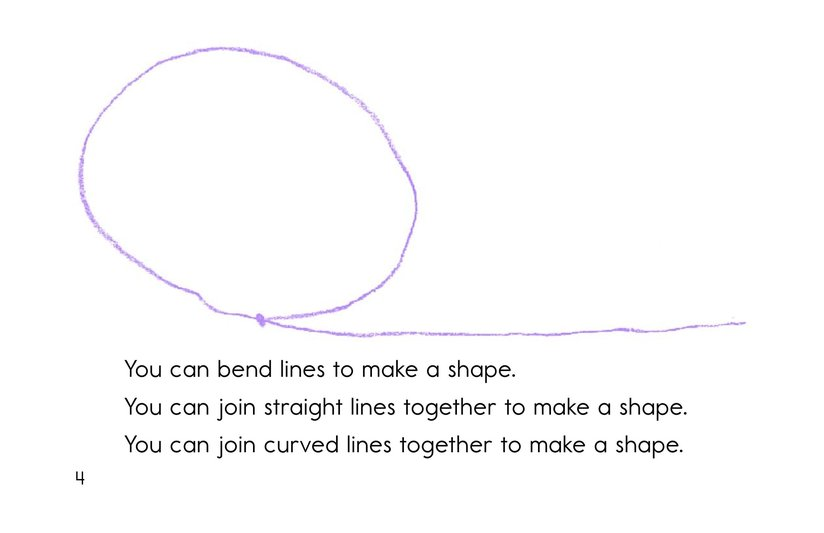 Book Preview For Let's Make Shapes! Page 4