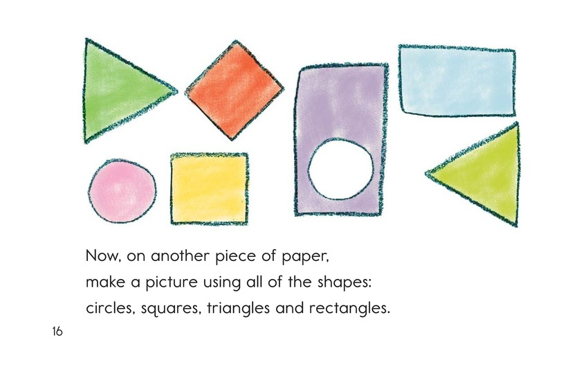 Book Preview For Let's Make Shapes! Page 16