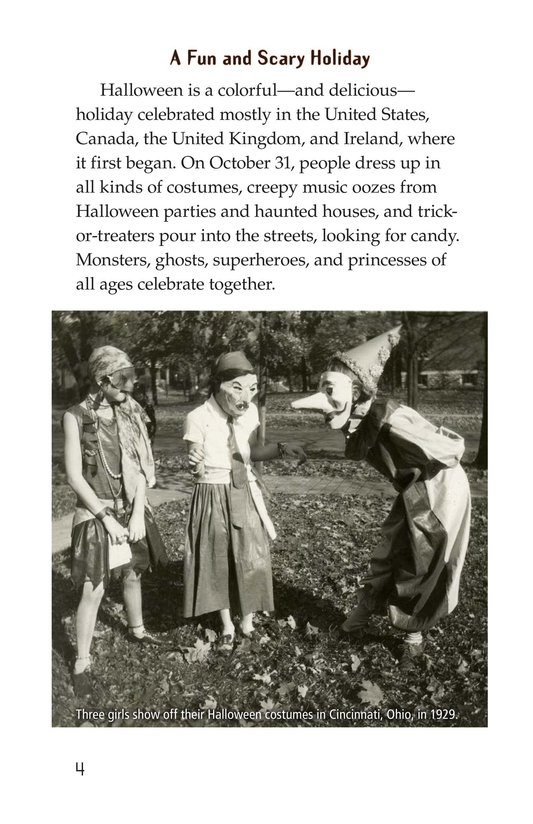 Book Preview For The History of Halloween Page 4