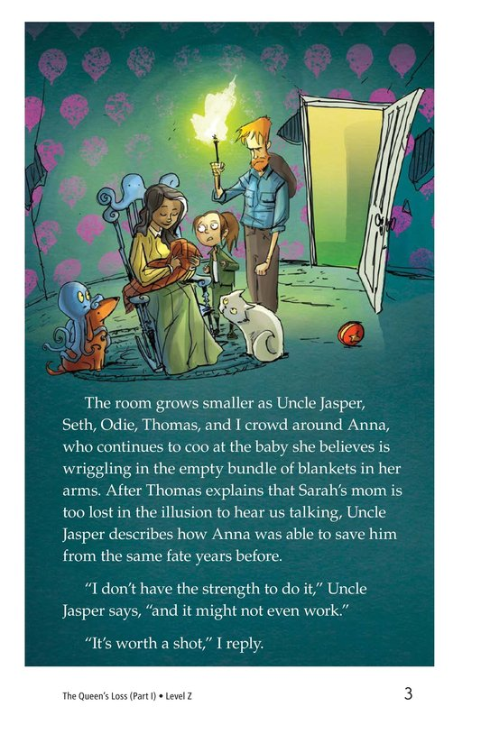 Book Preview For The Queen's Loss (Part I) Page 3