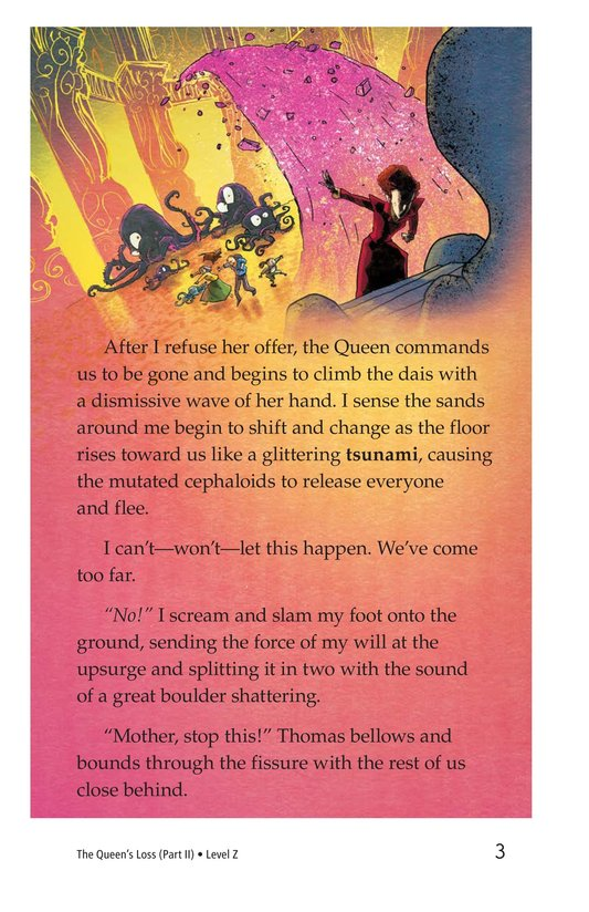Book Preview For The Queen's Loss (Part II) Page 3