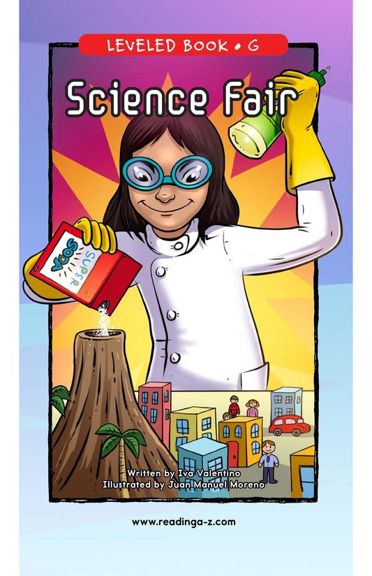 Book Preview For Science Fair Page 0