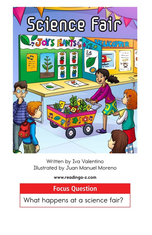 Book Preview For Science Fair Page 1