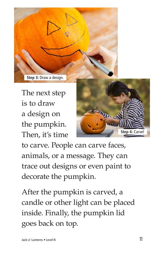 Book Preview For Jack-o'-Lanterns Page 11