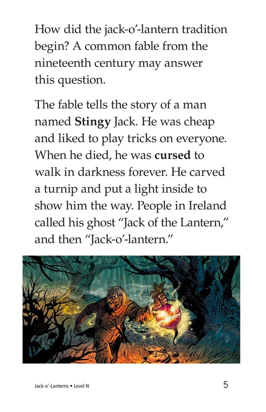Book Preview For Jack-o'-Lanterns Page 5