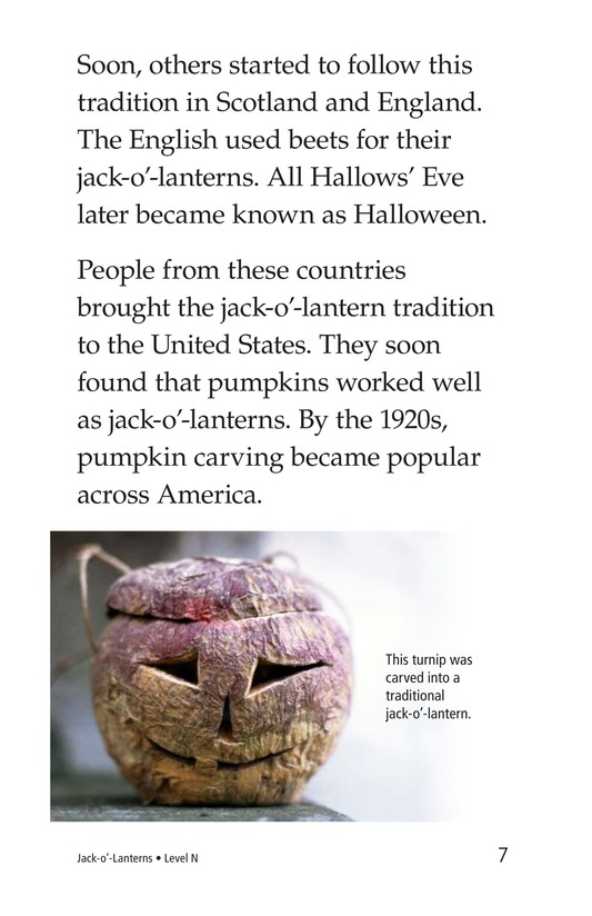 Book Preview For Jack-o'-Lanterns Page 7
