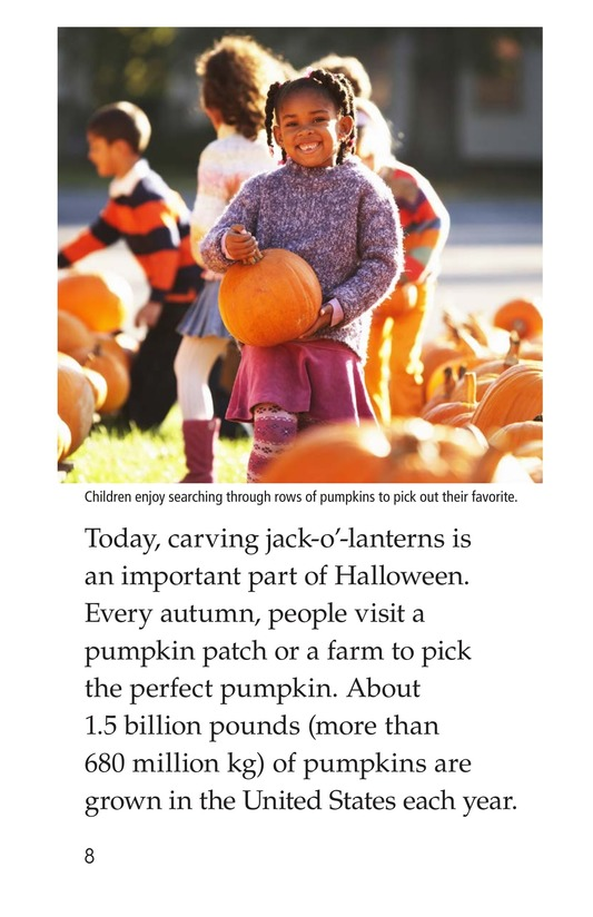 Book Preview For Jack-o'-Lanterns Page 8