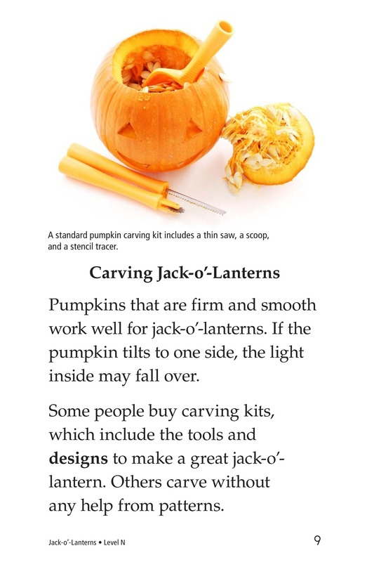 Book Preview For Jack-o'-Lanterns Page 9
