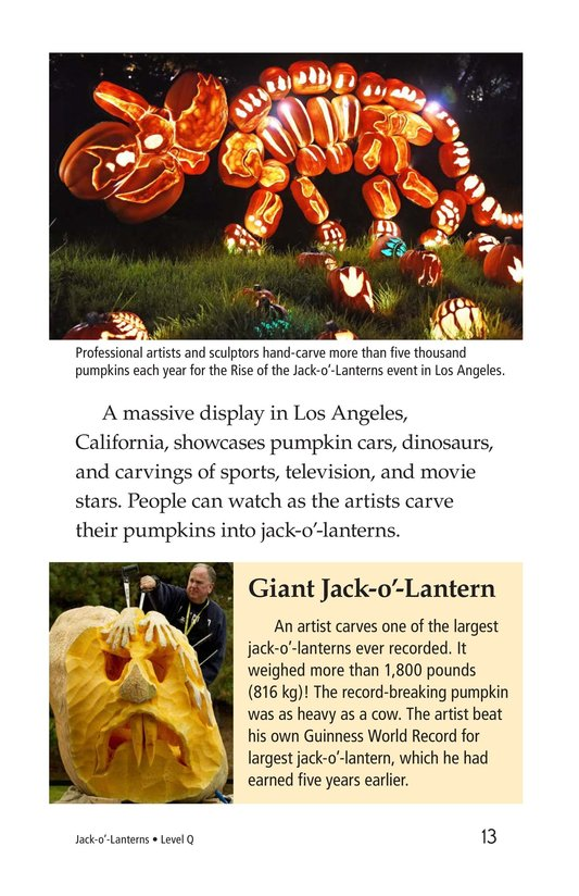 Book Preview For Jack-o'-Lanterns Page 13