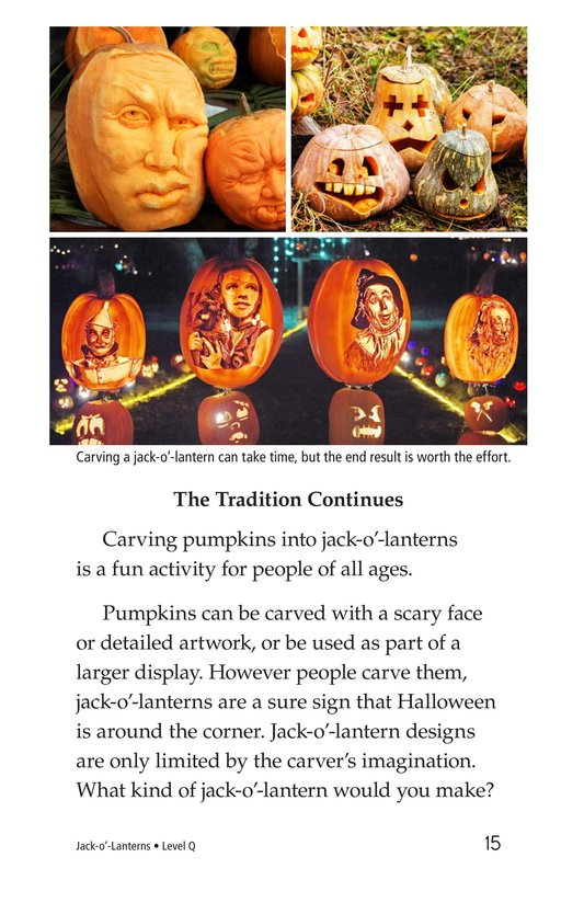 Book Preview For Jack-o'-Lanterns Page 15