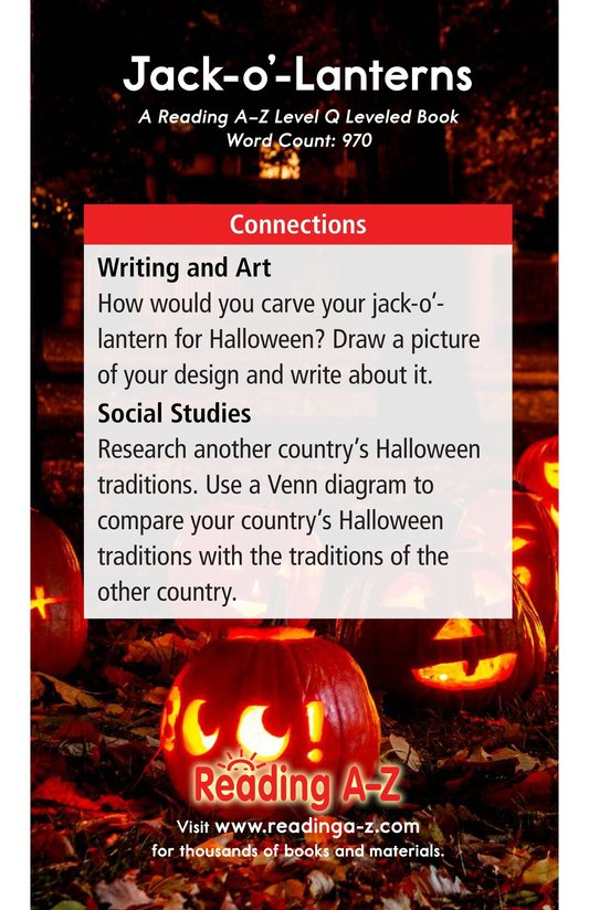 Book Preview For Jack-o'-Lanterns Page 17