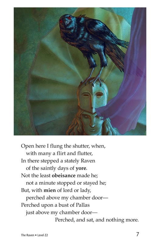 Book Preview For The Raven Page 7