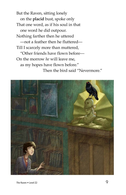Book Preview For The Raven Page 9