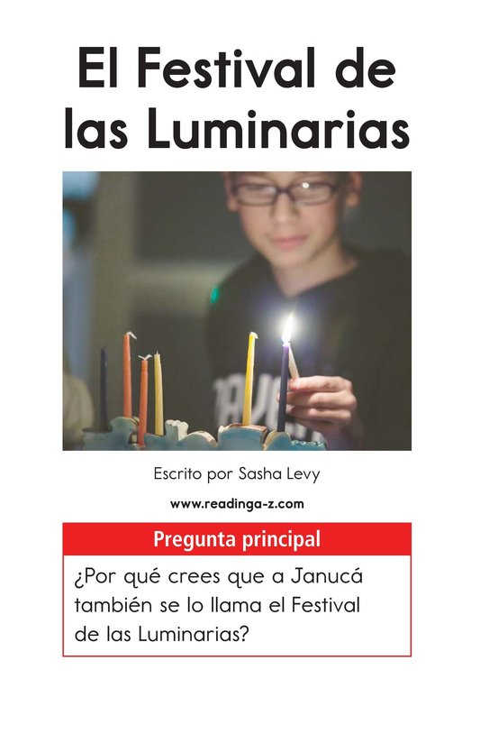 Book Preview For The Festival of Lights Page 1
