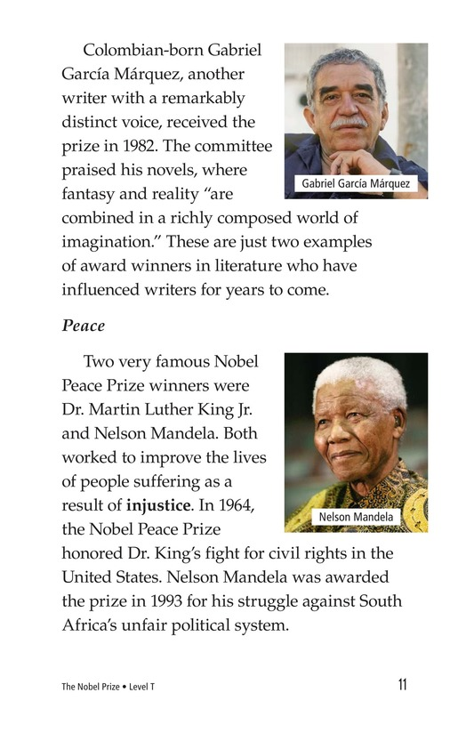 Book Preview For The Nobel Prize Page 11