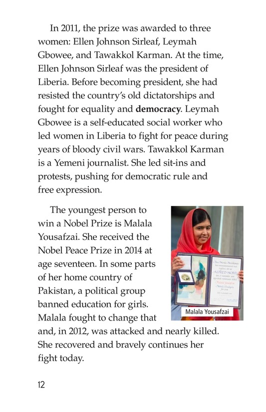 Book Preview For The Nobel Prize Page 12
