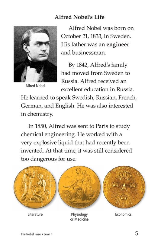 Book Preview For The Nobel Prize Page 5