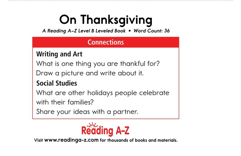 Book Preview For On Thanksgiving Page 11