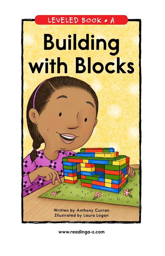 Book Preview For Building with Blocks Page 0