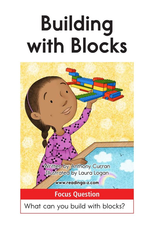 Book Preview For Building with Blocks Page 1