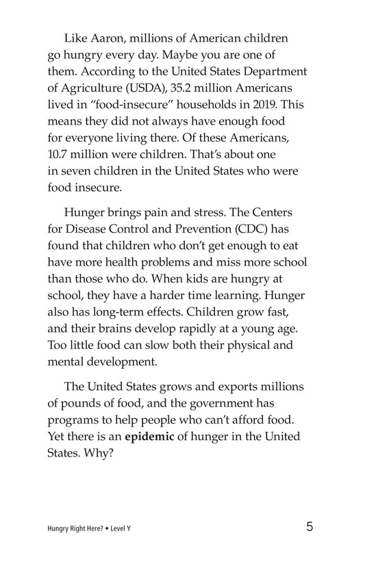 Book Preview For Hungry Right Here? Page 5