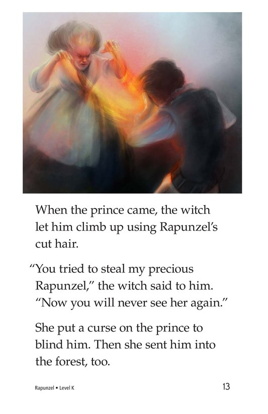 Book Preview For Rapunzel Page 13