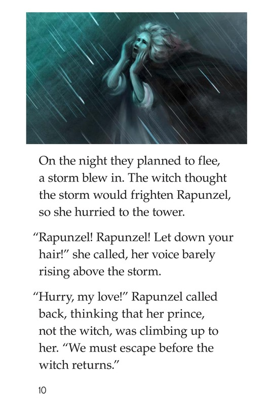Book Preview For Rapunzel Page 10