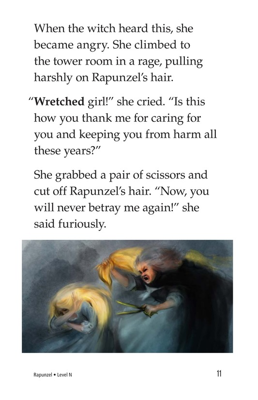 Book Preview For Rapunzel Page 11