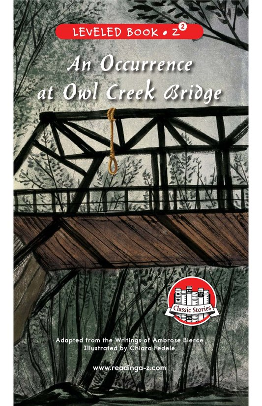 Book Preview For An Occurrence at Owl Creek Bridge Page 0