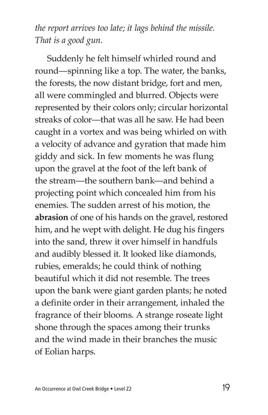 Book Preview For An Occurrence at Owl Creek Bridge Page 19