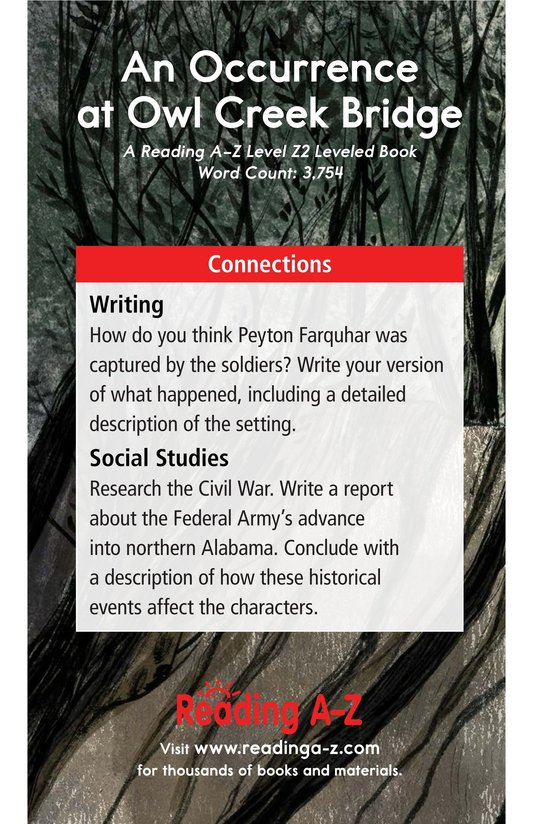 Book Preview For An Occurrence at Owl Creek Bridge Page 25