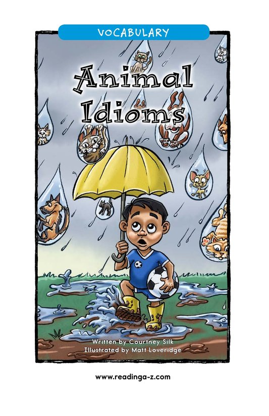Book Preview For Animal Idioms Page 1