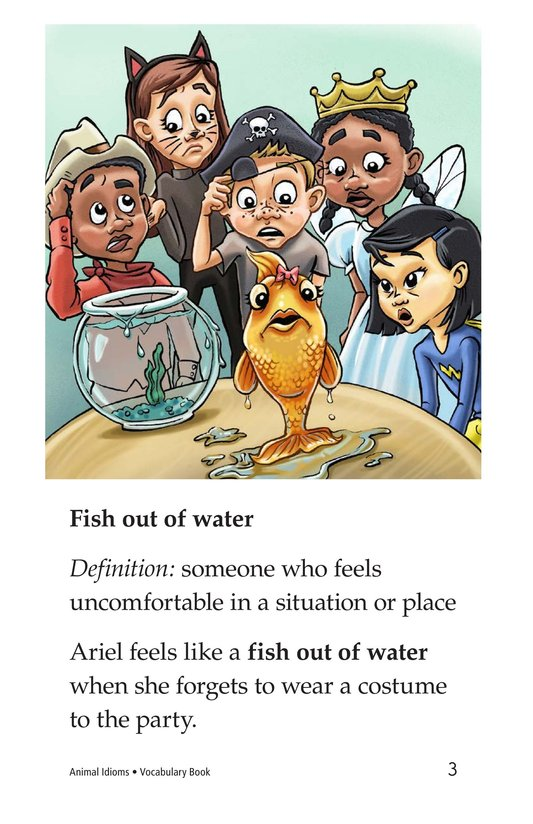 Book Preview For Animal Idioms Page 3