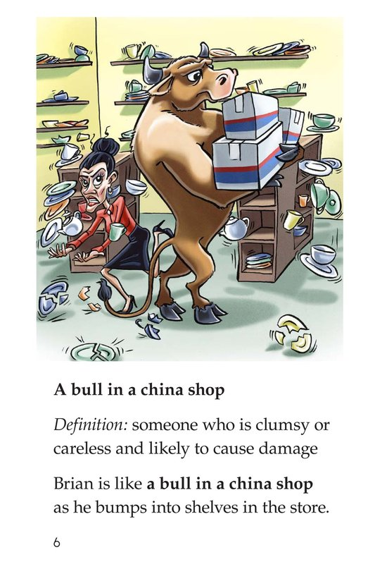 Book Preview For Animal Idioms Page 6