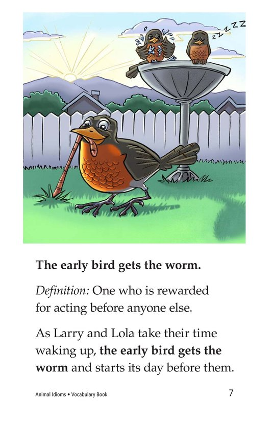 Book Preview For Animal Idioms Page 7