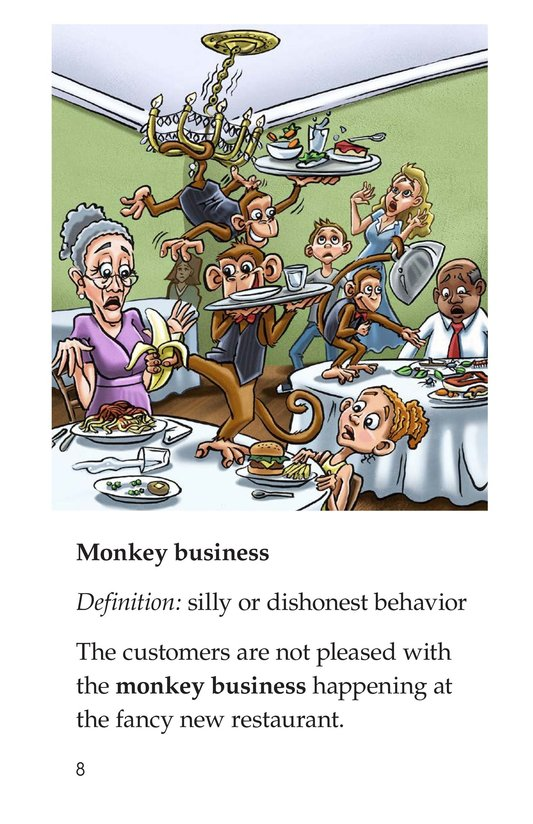 Book Preview For Animal Idioms Page 8