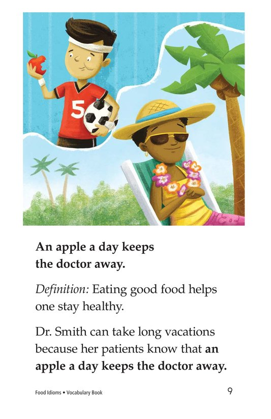 Book Preview For Food Idioms Page 9